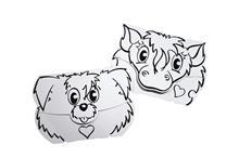 Set Masti Animate - Catel si Ponei - Calafant