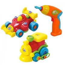 Set Mecanic Junior - Masinuta Si Trenulet