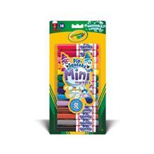 Set Mini Carioci Lavabile 14 Culori