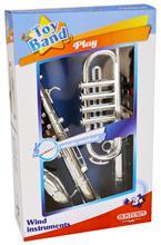 Set Muzical Trompeta Si Saxofon