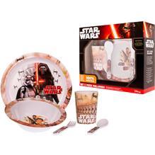 Set Pentru Masa Melamina 5 Piese Star Wars Lulabi
