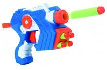 Set Pistol Cu Gloante Moi Si Tinte Pentru Copii Globo Wtoy