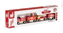 Set Povestea Mea - Trenulet - Pompieri - Janod (J08540)