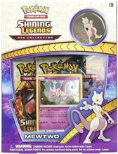 Set Shining Legends Pin Collection Mewtwo Pokemon Tcg