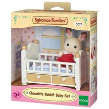 Set Sylvanian Families Chocolate Rabbit Baby Set