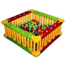 Spatiu De Joaca Patrat Pentru Bile King Kids