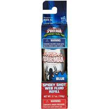 Spray Hasbro Albastru Spiderman Spidey Shot Refill Web Fluid Blue