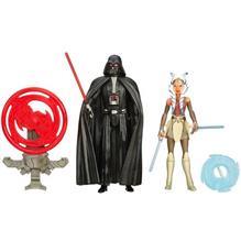 Star Wars - Figurine Darth Vader Si Ahsoka Tano