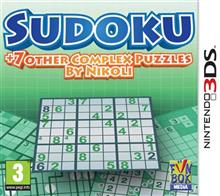 Sudoku Plus 7 Other Complex Puzzles By Nikoli Nintendo 3Ds