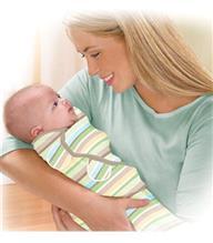 Summer Infant-72088-Sistem De Infasare Pentru Bebelusi Swaddleme Dungulite Colorate