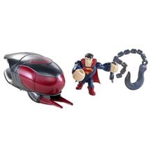 Superman- Figurina Lansatoare Si Vehicul - Cruiser Smash