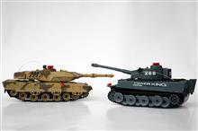 Tancuri De Lupta Cu Infrarosu (Pereche 2 Bucati)