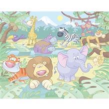Tapet Pentru Copii Baby Jungle Safari
