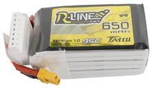 Tattu R-Line 650Mah 22 2V 95C 6S1p Xt30u-F Battery