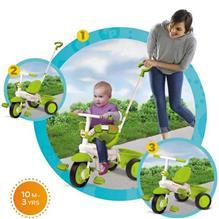 Tricicleta 3 In 1 Classic Verde