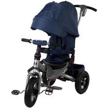 Tricicleta Multifunctionala Little Tiger T400 - Sun Baby - Albastru