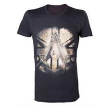 Tricou Assassins Creed Syndicate British Flag Black Marimea Xl imagine