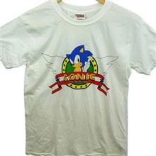 Tricou Sonic The Hedgehog Men S Wings Logo Regular Fit Short Sleeve T-Shirt