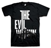 Tricou The Evil Within Logo Wired Marimea L