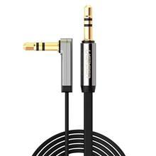 Ugreen Mini Jack 3 5Mm Aux Flat Elbow Cable 3M