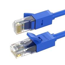 Ugreen Nw102 Ethernet Rj45 Rounded Network Cable Cat.6 Utp 1M (Blue)