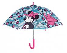 Umbrela Manuala 38 Cm Cu Inchidere Cu Siguranta Minnie Bleu