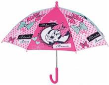 Umbrela Manuala 38 Cm Cu Inchidere Cu Siguranta Minnie Roz