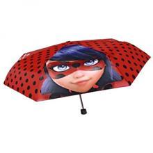 Umbrela Manuala 50 Cm Cu Inchidere Cu Siguranta Si Protectie Pentru Vant Miraculous Lady Bug