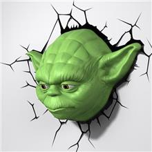 Veioza Star Wars Episode 7 Yoda Head 3D Deco Light