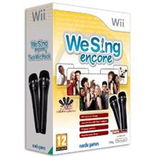 We Sing Encore Plus 2 Mics Nintendo Wii