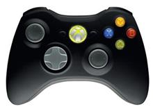 Xbox 360 Controller Wireless Black Xbox360