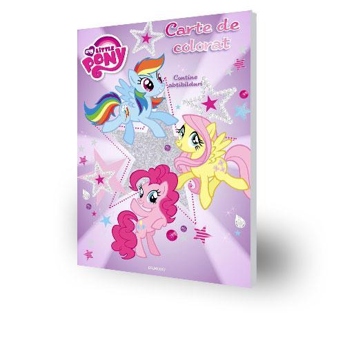 Carte De Colorat My Little Pony Coloreaza Ponei Dragalasi